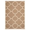 Safavieh Courtyard Brown Outdoor Area Rug