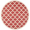 Safavieh Courtyard Red Outdoor Rug