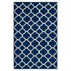 Safavieh Dhurries Blue/Ivory Area Rug