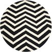 <strong>Cambridge Black / Ivory Rug</strong> by Safavieh