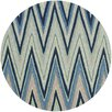 Safavieh Four Seasons Navy/Green Chevron Area Rug