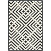 <strong>Newport Black / White Geometric Rug</strong> by Safavieh