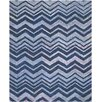 Safavieh Nantucket Blue Chevron Area Rug