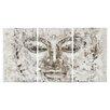 Safavieh Buddha 3 Piece Painting Print on Canvas Set