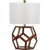 "Safavieh Delaney 23.75"" H Table Lamp with Drum shade"