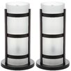 "Safavieh Minter 18"" H Hurricane Table Lamp (Set of 2)"