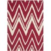 Safavieh Cambridge Red / Ivory Area Rug
