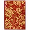 Safavieh Courtyard Red / Natural Area Rug