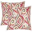Safavieh Joyce Cotton Decorative Pillow (Set of 2)