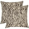 Safavieh Frederick Cotton Decorative Pillow (Set of 2)