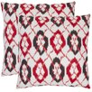 <strong>Safavieh</strong> Drew Cotton Decorative Pillow (Set of 2)