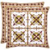 <strong>Safavieh</strong> Edward Cotton Decorative Pillow (Set of 2)