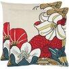 Safavieh Jett Cotton Decorative Pillow (Set of 2)