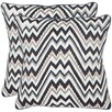 Safavieh Highland Cotton Throw Pillow (Set of 2)