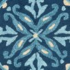 <strong>Safavieh</strong> Four Seasons Blue / Multi Outdoor Rug