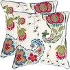 Safavieh Melissa Cotton Decorative Pillow (Set of 2)