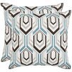 <strong>Safavieh</strong> Indie Cotton Decorative Pillow (Set of 2)