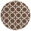 <strong>Cambridge Dark Brown / Ivory Rug</strong> by Safavieh