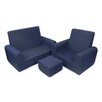 Fun Furnishings Kids Sofa, Chair and Ottoman Set