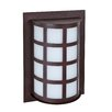 <strong>Besa Lighting</strong> Scala 1 Light Outdoor Wall Sconce