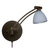 Besa Lighting Divi Foil Swing Arm Wall Sconce