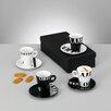 Zeller Present 8-tlg. Cappuccino Set Coffee Style