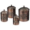 <strong>Old Dutch International</strong> Antique Heritage Canister (Set of 4)