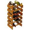 <strong>Dakota 18 Bottle Wine Rack</strong> by Wooden Mallet