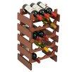 <strong>Wooden Mallet</strong> Dakota 15 Bottle Wine Rack