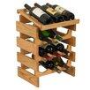 <strong>Dakota 12 Bottle Wine Rack</strong> by Wooden Mallet