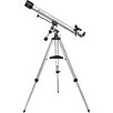 675 Power, 90060 Starwatcher Refractor Telescopes, EQ, Silver, Red Dot Finderscope, Astronomy Software