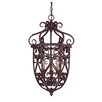 <strong>Wildon Home ®</strong> Tabatha 3 Light Cage Foyer Pendant