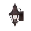 <strong>Wildon Home ®</strong> Holloway 3 Light Outdoor Wall Lighting