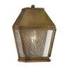 Savoy House Harper 1 Light Outdoor Wall Lantern