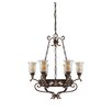 Savoy House Walker 6 Light Chandelier