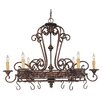 <strong>Wildon Home ®</strong> Cannon 6 Light Hanging Pot Rack
