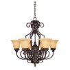 <strong>Wildon Home ®</strong> Ladoga 6 Light Chandelier