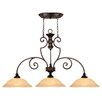 <strong>Wildon Home ®</strong> Ladoga 3 Light Kitchen Pendant