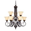 <strong>Keystone 9 Light Chandelier</strong> by Savoy House