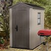 Keter Factor 6 Ft. W x 4.5 Ft. D Resin Tool Shed
