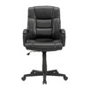 <strong>Gruga Manager's Mid-Back Leather Executive Office Chair I</strong> by Sauder