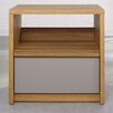 <strong>Soft Modern 1 Drawer Night Stand</strong> by Sauder