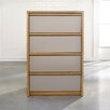 <strong>Soft Modern 4 Drawer Chest</strong> by Sauder