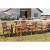 <strong>Wildon Home ®</strong> Dabney 7 Piece Dining Set with Side and Arm Chairs