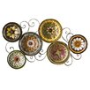 Wildon Home ® Scattered Italian Plates Wall Décor