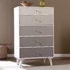 Wildon Home ® Anywhere 5 Drawer Storage Cabinet