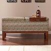 Wildon Home ® Barbados Faux Leather Storage Entryway Bench