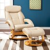 Wildon Home ® Aledo Recliner and Ottoman