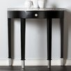 Wildon Home ® Carmichael Console Table - Mirrored Demilune