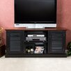 Wildon Home ® Cubango TV/ Media Stand in Black w/ Walnut